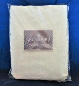 """Waterford SHEELIN Ivory Oblong Tablecloth 70"""" x 104"""""""