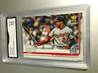 JUAN SOTO ALL STAR ROOKIE CARD 2019 Topps #213 GMA Graded 10 Gem Mint