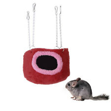 Cotton Hammock Cabin Hanging Bed Squirrel Chinchilla Guinea Pig Rat Pet S