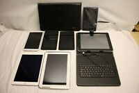 JOB LOT 7 X TABLET APPLE A1567 SAMSUNG GT-N8010 SM-T310 AMAZON SV98LN BUNDLE
