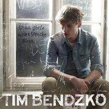CD ° Tim Bendzko ° Wenn Worte meine Sprache wären ° NEU & OVP
