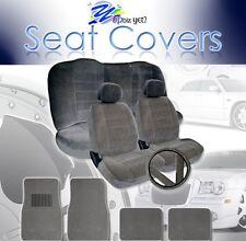 2000 ~ 2007 Fits Honda Accord Seat Covers Floor Mats Complete Set Grey