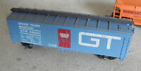 Vintage 1980s HO Scale Yugoslavia Made Great Trunk Western Reefer Boxcar Car