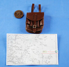 1:6 FIGURE WW2 GERMAN PANZERGRENADIER GENERAL Manteuffel Desert Map Bag FH_5L