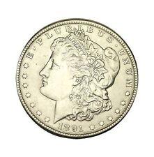 elf  Morgan Dollar   1891