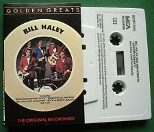 Bill Haley Golden Greats inc See You Later Alligator + Cassette Tape - TESTED