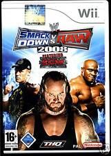 Wii-Nintendo -- Smack Down RAW -- 2008 --