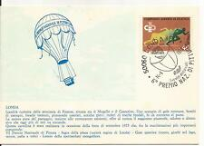 14-9-1975 - ANNULLO SPECIALE VI PREMIO NAZIONALE DI PITTURA DI LONDA 40 ATLETICA
