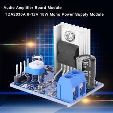 TDA2030A Audio Amplifier Module Board 18W 6-12V Single Amp Power Supply Module
