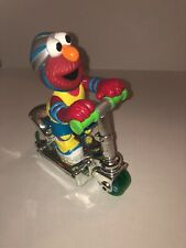 "Mattel 2000 Sesame Street Elmo Scooter Toy With Press And Go Action 8"" Tall"