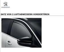 Original Peugeot 3008 5008 SUV Regen Luft Windabweiser Satz für vorne 1616443380