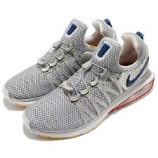 a8400e69e48689 Nike Shox Gravity Size 8 Mens Running Shoes Metallic Silver Siren Red  Ar1999-046