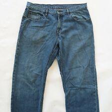 Volcom Mens Straight Leg Medium Wash Denim Jeans Size 36x31
