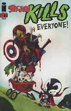 SPAWN KILLS EVERYONE 1 RARE HEE VARIANT NM SPIDERMAN AVENGERS BATMAN SUPERMAN