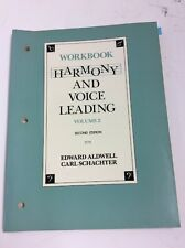 Harmony and Voice Leading Vol 2 by Edward Aldwell & Carl Schachter 1989 82