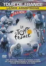 LEGENDS OF TOUR DE FRANCE LANCE ARMSTRONG 7 IN A ROW DVD