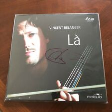 VINCENT BELANGER LA, SIGNED IN PERSON VINYL 2 LP AUDIOPHILE
