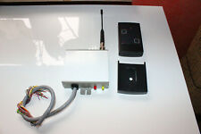 TELENOT Funkempfänger FWF-5/E3 mit Antenne und FWF-5H-S3 Handsender