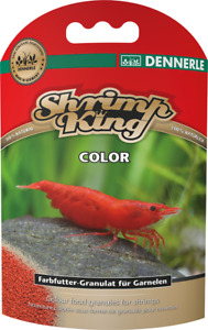 Dennerle Shrimp King - Color 35g Crystal Cherry Shrimp Inverts CRS Bee Crayfish