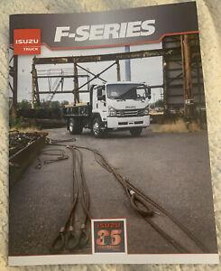 Isuzu F-Series Truck  Brochure