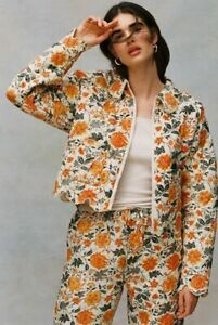 Laura Ashley UO Exclusive Devon Reversible Quilted Jacket Floral Printed L NWT