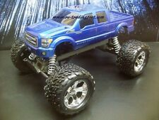 Custom Painted Body Ford F-250 2011 For 1/10 RC Monster Truck Traxxas Stampede