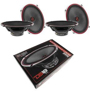 """DS18 EXL 6x9"""" 2 way Coaxial Door Speakers 2240 Watts Fiber Glass 3 Ohm 2 Pair"""