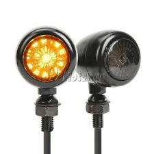 Black LED Turn Signals For Honda Shadow Spirit Magna Aero VT700 VT750 VT1100