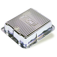 B&M 70289 Chrome 82-93 GM 700R4 4L60 Deep Transmission Pan +3 Quarts Extra