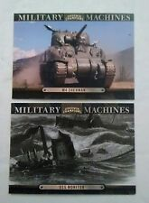 2012 Upper Deck Goodwin Champions Military Machines (2) Card Lot see pics