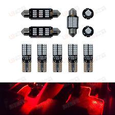 RED Premium Interior LED Kit - Fits Audi A4 B8 Avant - Bright SMD Bulbs