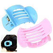 2xWomen Girls Bath Plastic Barrette Jaw Clamp Hairpin Hair Claw Clip Accessory