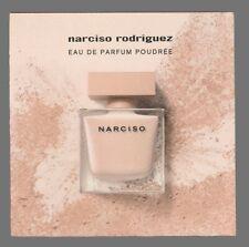 Carte parfumée  - perfume card  -   Narciso Rodriguez recto verso