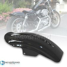 Rear Fender For Harley Davidson Sportster XL Cafe Racer Bobber Chopper Black