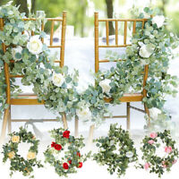 2M Artificial Ivy Vine Flowers Garland Hanging Trailing Faux Plant Wedding Decor