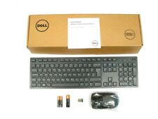 DELL KM636 Wireless Cordless Keyboard and Mouse Set Combo Kit UK Layout 580-ADFZ
