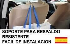 Soporte para colgar bolsas en reposacabezas coche NEGRO