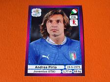 325 PIRLO JUVENTUS  ITALIA ITALIE  FOOTBALL PANINI UEFA EURO 2012