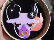 Tactile Resin Brooch Erstwilder Taurus The