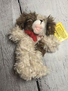 Build A Bear BABW Dog Plush Lil' Furry Friend Mini Scruffy Puppy Brown & Cream