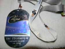 Celine Dion Lanyard with picture & lenticular pics on other side-Las Vegas show