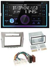 JVC Bluetooth 2DIN AUX CD MP3 USB Autoradio für Toyota Corolla Verso 04-09 silbe