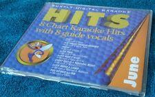 Karaoke cdg disc Sunfly Monthly Chart Hits, June 97,see descript.8+8 trks