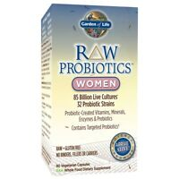 Garden of Life Raw Probiotics Women Vegetarian Fresh 90 Capsules