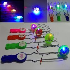 Light Up Gyro Wheel Magnetic Kinetic Rail Twister Science Toy For Kids Gifts