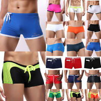 Men Swimming Board Shorts Boxers Casual Pool Surfing Beach Summer Swim Trunks US