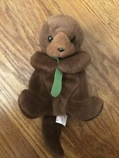 Ty Beanie Baby 1993 Rare Seaweed The Otter No Tag Pvc