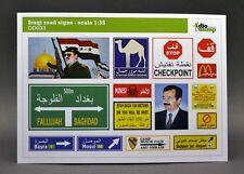 DioDump DD033 Iraqi road signs 1:35 scale diorama accessories