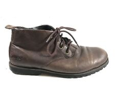 Bogs Mens 11.5 44 Johnny Leather Chukka Ankle Boots Desert Brown
