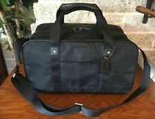 NWOT COACH VOYAGER NYLON LEATHER GYM BAG TRAVEL SHOULDER DUFFLE CARRY ON LUGGAGE